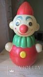 Неваляшка Клоун Детская игрушка Целлулоид СССР, фото №7