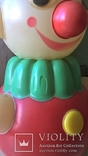Неваляшка Клоун Детская игрушка Целлулоид СССР, фото №9