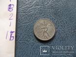 1  эре  1956  Дания  цинк   ($2.1.16)~, фото №4