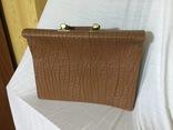 Винтажный кожаный портфель профессора, фото №5