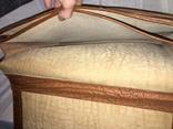 Винтажный кожаный портфель профессора, фото №12