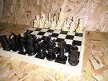 Старые шахматы с потерями, фото №2