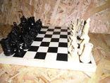 Старые шахматы с потерями, фото №4