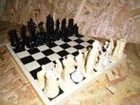 Старые шахматы с потерями, фото №5