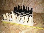 Старые шахматы с потерями, фото №7