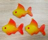 Елочные игрушки мышка, лебедь, рыбки. картон и пластмасс, ссср. 5 штук., фото №7