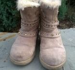 Сапожки зимові для дівчинки 25 р., фото №5