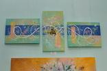 Картина модульная триптих акрил Ветер, 30Х40см, 50Х25см, 30Х40см, фото №3