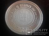 Нидерланды 5 евро, 2006 200 лет Налоговому ведомству Нидерландов, фото №2