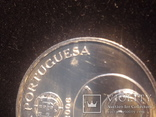 Португалия 5 евро, 2006 ЮНЕСКО - Монастырь Алкобаса СЕРЕБРО, фото №4