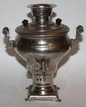 Сувенирный самовар,в форме репы (СССР), фото №2