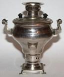 Сувенирный самовар,в форме репы (СССР), фото №5