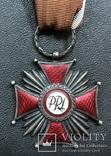 Rрест за За слуги 2 ст. PRL Польша, фото №3