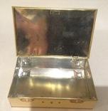 Коробка с замочком. Конфеты Ренессанс.  Металл, жесть., фото №6