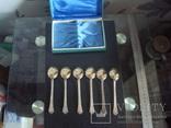Чайный набор, МНЦ ,СССР,позолота, фото №6