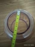 Фигурное стекло к керосиновой лампе с оттенком, фото №2