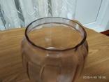 Фигурное стекло к керосиновой лампе с оттенком, фото №4