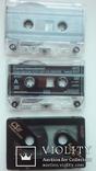 Три аудиокассеты с записью, фото №4