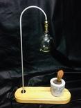 Светильник настольный CHEFIRCHIKo НС000101 , с вазоном для кактуса