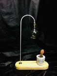 Светильник настольный CHEFIRCHIKo НС000101 , с вазоном для кактуса фото 5