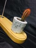 Светильник настольный CHEFIRCHIKo НС000101 , с вазоном для кактуса фото 7