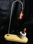 Светильник настольный CHEFIRCHIKo НС000101 , с вазоном для кактуса фото 8
