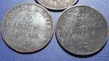 3 по 3 пфеннига 1862-1868 Пуссия, фото №3