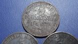 3 по 3 пфеннига 1862-1868 Пуссия, фото №4