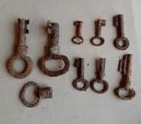Ключи 8шт., фото №2