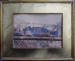 Две старые Английские картины 1922 год. Художник Wilfrid Stones. Смешанная техника., фото №7