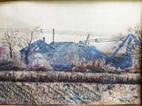 Две старые Английские картины 1922 год. Художник Wilfrid Stones. Смешанная техника., фото №9