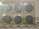 Почти набор 61 шт разных юбил. 1- 3 -5 рублей, красн.книга и др., фото №9