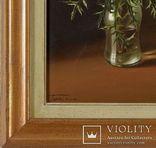 Картина Цветочный натюрморт Michele Taricco 1927, Triest Италия, фото №3