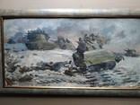 """За Родину"" к.м.    А.Б.Постель (1904-1989), фото №3"