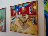 Копия картины холст масло Винсент Ван Гог Ночное кафе.70*60см, фото №3