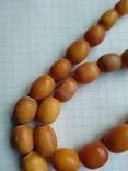 Бусы янтарь, 49 гр., фото №10
