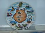 Тарелка сувенирная Гран Канария Испания (Gran Canaria), фото №5