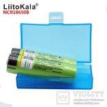 LiitoKala NCR18650B 3,7 V 3400 mah- 2шт. Лот2