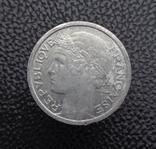 Франция 1 франк 1957, фото №3