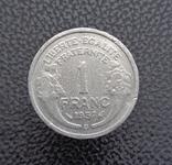 Франция 1 франк 1957, фото №2