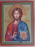 Икона Иисус Вседержитель (Пантократор). Спаситель. Иисус Христос., фото №2