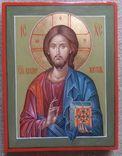 Икона Иисус Вседержитель (Пантократор). Спаситель. Иисус Христос., фото №4