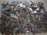Супер- Гора монет с нашими и зарубежными (617 штук.)
