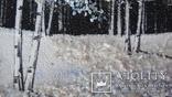 Природный пейзаж из уральских камней, самоцветы  СССР, фото №9