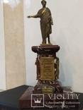 Дюк де Ришелье скульптура на мраморе 22,5 см, фото №4