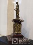Дюк де Ришелье скульптура на мраморе 22,5 см, фото №5