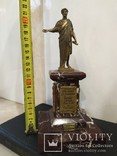 Дюк де Ришелье скульптура на мраморе 22,5 см, фото №9