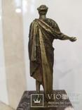 Дюк де Ришелье скульптура на мраморе 22,5 см, фото №10