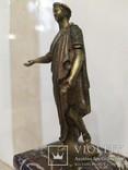 Дюк де Ришелье скульптура на мраморе 22,5 см, фото №12