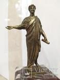 Дюк де Ришелье скульптура на мраморе 22,5 см, фото №13